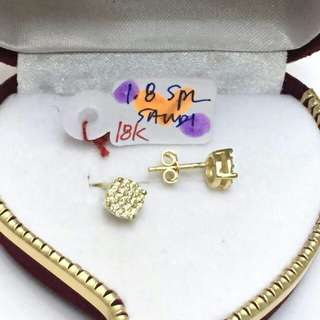 18k gold earings for her ♥