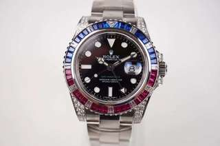 Rolex GMT Master II Ruby (ETA 3186 Swiss Engine