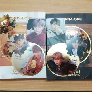 WTS wanna one i promise you album card