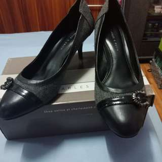 Black Shoes Charles and Keith