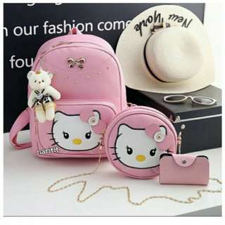 HELLO KITTY BAG 3in1