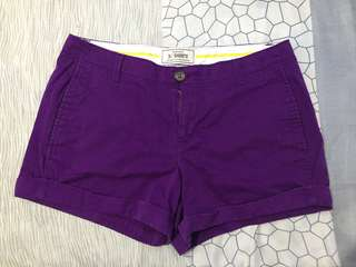 Old navy purple shorts