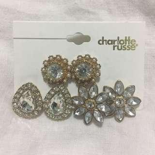 Charlotte Russe Earrings Set