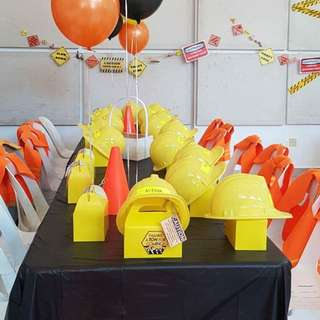 Customised Party Favours & Kids table set up