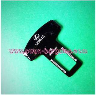 Universal Car Safety Belt Buckle Key Clasp Clip With 3D Reflective Lexus Logo IS250 IS300 ES250 ES300 GS350 GS450 NX200