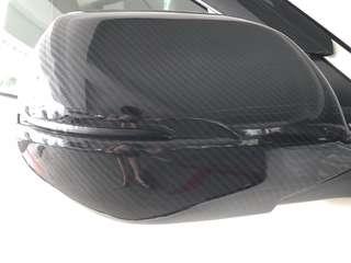 Honda Vezel / Hrv carbon Fibre side mirror cover
