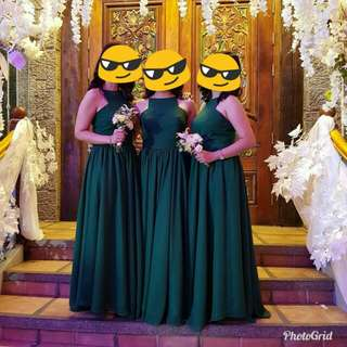 For rent: Green gown