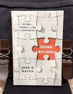 # Highly Recommended《Bran-New + How To Understand Own Personality And Other's Around Us》John D. Mayer - PERSONAL INTELLIGENCE : The Power of Personality and How It Shapes Our Lives
