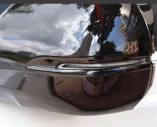 Honda Vezel / Hrv gloss black side mirror cover