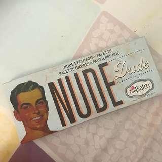 Nude the balm eyeshadow