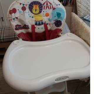 Graco 防水餐椅,八成新
