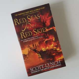 [NEW INSTOCK] Red seas under red skies by Scott Lynch