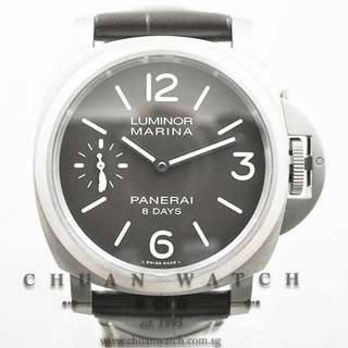 Pre-Owned Panerai Luminor Marina 8-Days Titanio Pam 564 R