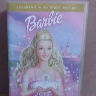 Vintage barbie movie (VHS) Japanese version rare