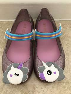 Brand new unicorn jelly shoes