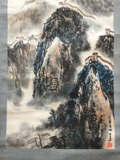 Chinese painting 80x47cm