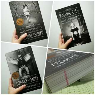 COMPLETE TRILOGY OF MISS PEREGRINE'S HOME FOR PECULIAR CHILDREN