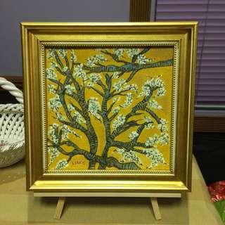 Van Gogh inspired Almond Blossoms