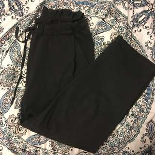 FLOWY ANKLE CUT PANTS (high waisted)