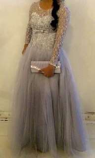 BALL GOWN W/ PURSE FOR RENT