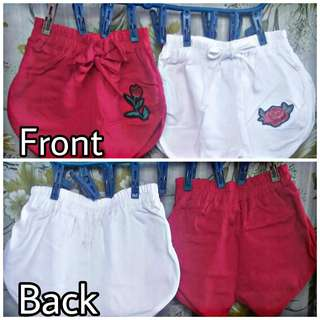 Shorts for baby girl (6-12 months)