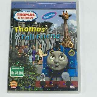 2DVD•CLEARANCE SALES {DVD, VCD & CD} New Series THOMAS & FRIENDS : Thomas' Tall Friend - 2DVD