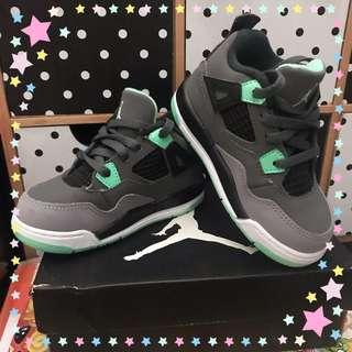Jordan 4 retro 7C (Grey/green/black)