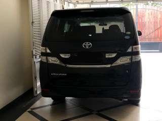 Toyota Vellfire V Premium Sound 2010