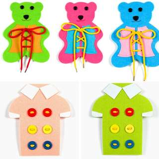 Dressing Up Your Bear/Shirt (Fine motor skill)