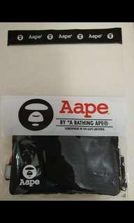 Aape 銀包 全新(10x17cm)