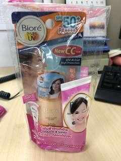 Biore UV Color control CC milk (SPF50+)