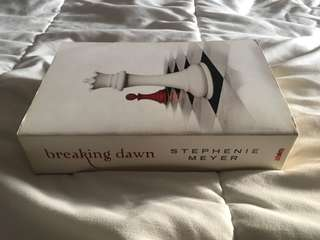 Twilight (4) Breaking Dawn - White Cover