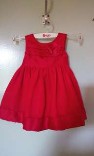 Baby Girl's Red Dress Carter's 3 Months