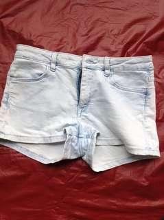 Summer Shorts (Powder Blue)