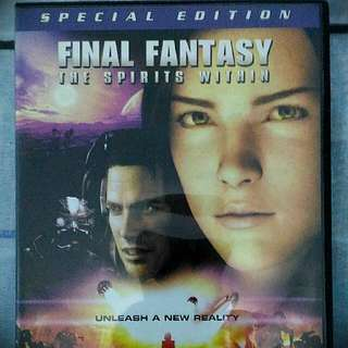 Final Fantasy The Spirits Within 2 Disc Dvd