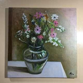 Vase Oil Painting
