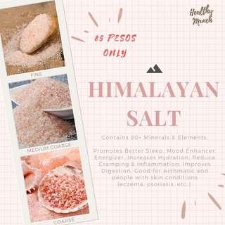 Himalayan Salt (Fine, Medium Coarse, Coarse)