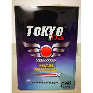 Tokyo drift import form Japan 5w40 fully