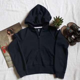 Uniqlo navy blue hoodie
