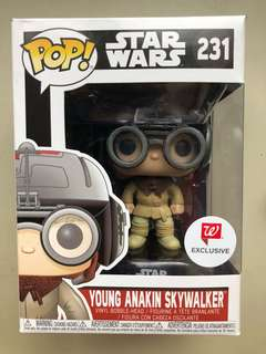 Young Anakin Podrace Walgreens Funko Pop
