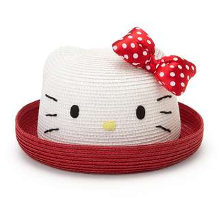 Japan Sanrio Hello Kitty Kids Face Blade Hat