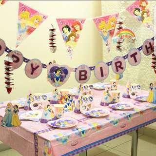 Disney Princess Theme Party Supplies