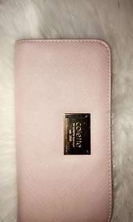 Baby pink wallet