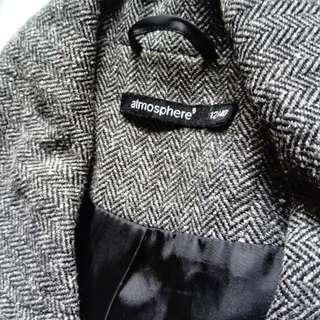 Atmosphere textured blazer