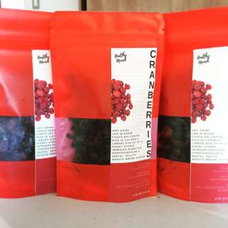 Dried Cranberries (Super Yummy & Healthy)