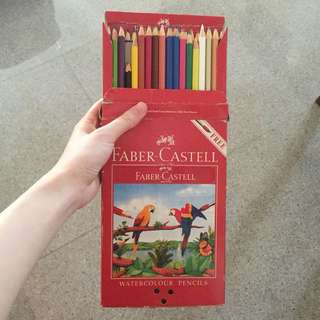 Faber Castell WaterColour Pencils