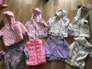 Girls toddler jumper bundle size 1
