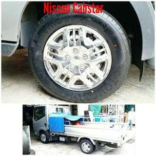 Tyre 195/70 R15C Membat on Nissan Cabstar 🐕 Super Offer 🙋♂️