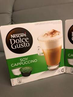 Nescafe豆漿卡布奇諾咖啡膠囊