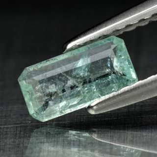 0.37ct Octagon Bluish Green Natural Paraiba Tourmaline - COPPER BEARING
